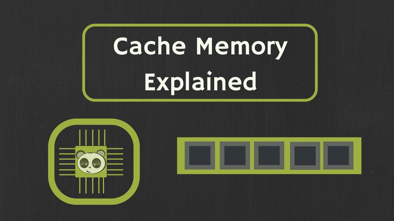 Các loại bộ nhớ cache phổ biến.