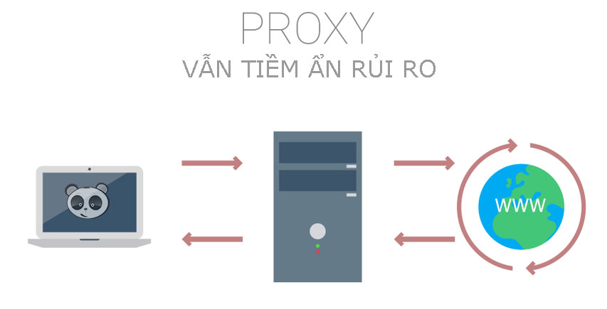 Rủi ro của Proxy.